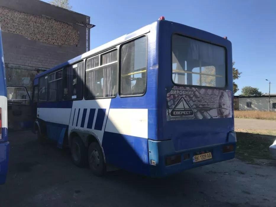 Экспериментальный украинский автобус Эталон Сити выставлен на продажу 2