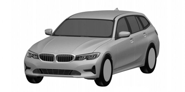 Новая BMW 3 Series Touring будет показана в Женеве 1