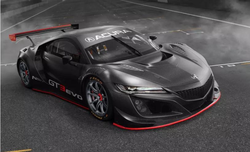 Acura обновила гоночный NSX 1