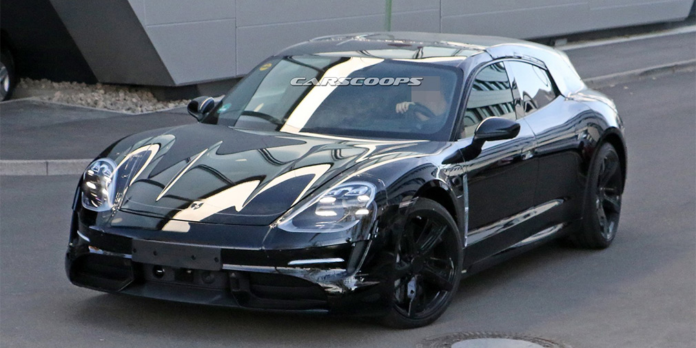 Porsche начала испытания электрического универсала 1