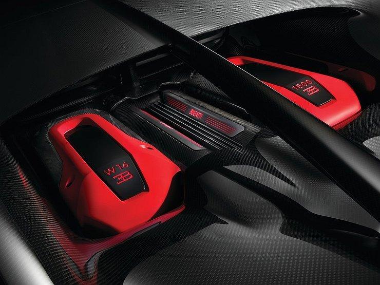 Bugatti готовит к Женевскому моторшоу самый мощный Chiron 1