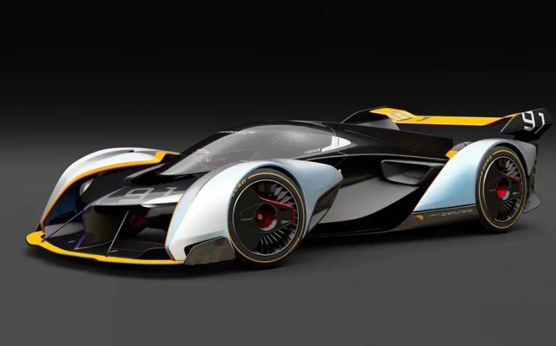 McLaren сделает серийным виртуальный гиперкар Ultimate Vision Gran Turismo 1