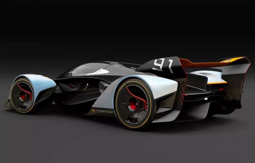 McLaren сделает серийным виртуальный гиперкар Ultimate Vision Gran Turismo 2
