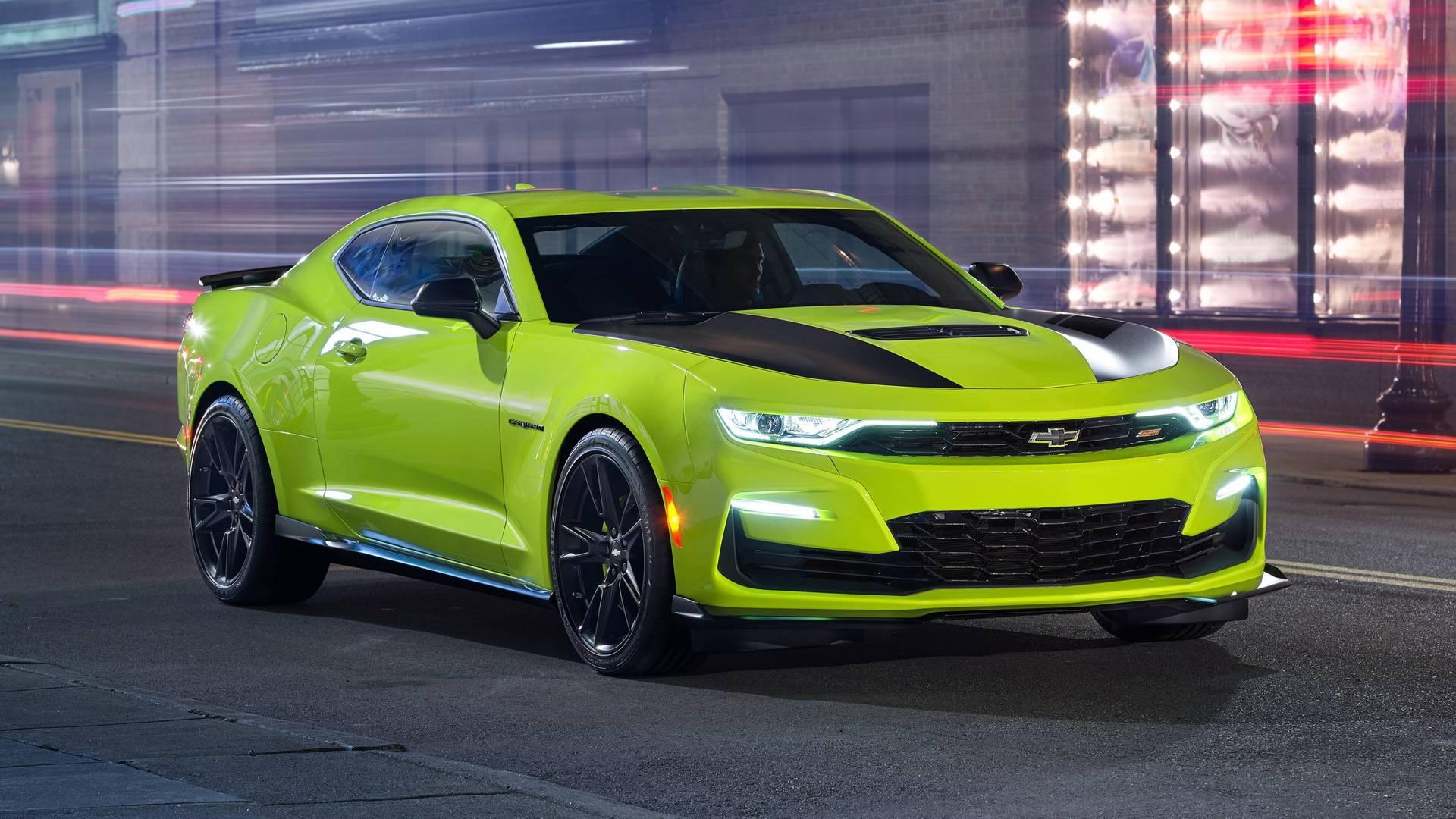 Chevrolet обновил Camaro перед шоу SEMA 1