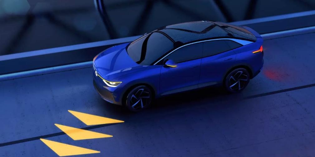 Автомобили Volkswagen научатся проецировать изображения на дорогу 1