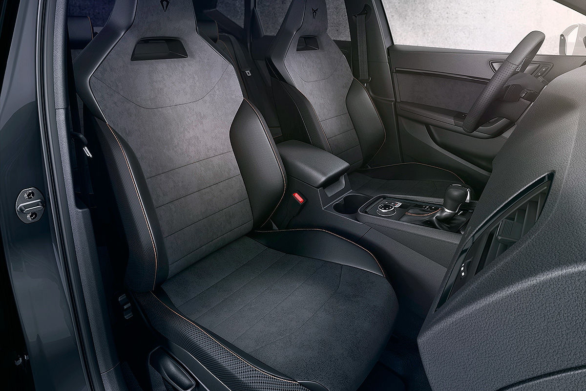 «Спортивный и амбициозный» тест-драйв Seat Cupra Ateca 4
