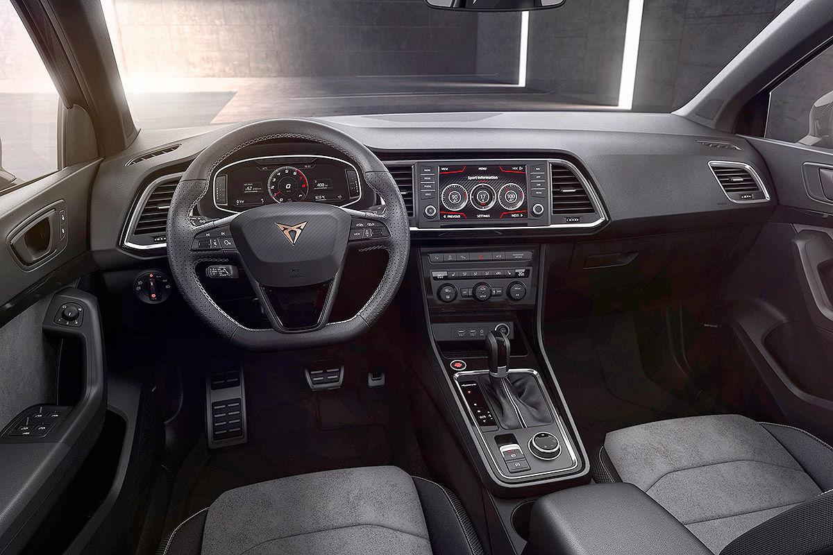 «Спортивный и амбициозный» тест-драйв Seat Cupra Ateca 3