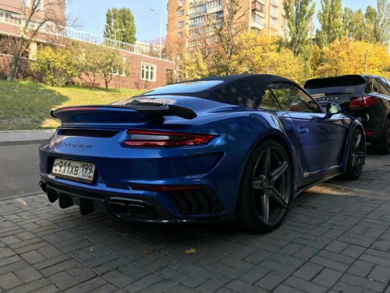 В Украине засветился уникальный Porsche 911 Stinger GTR на российских номерах 2