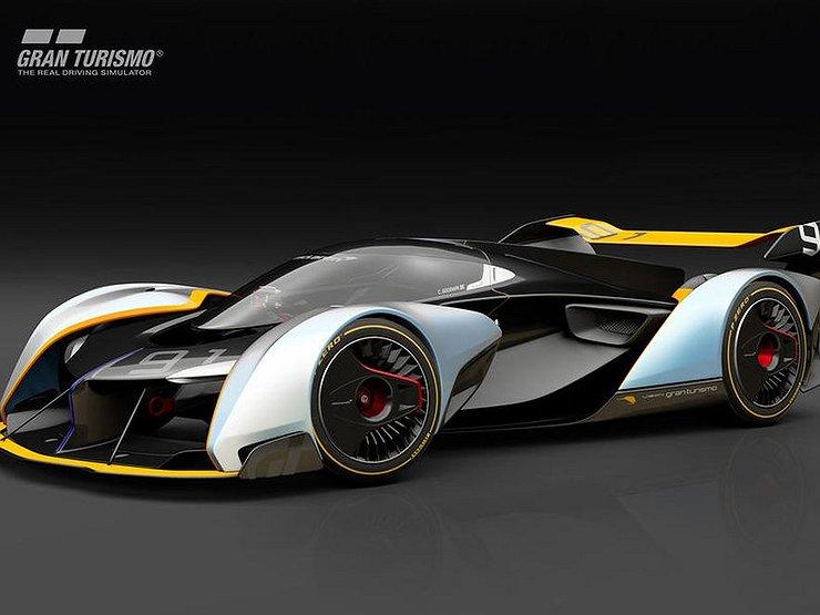 McLaren воплотит в серии виртуальный гиперкар Ultimate Vision GT 1