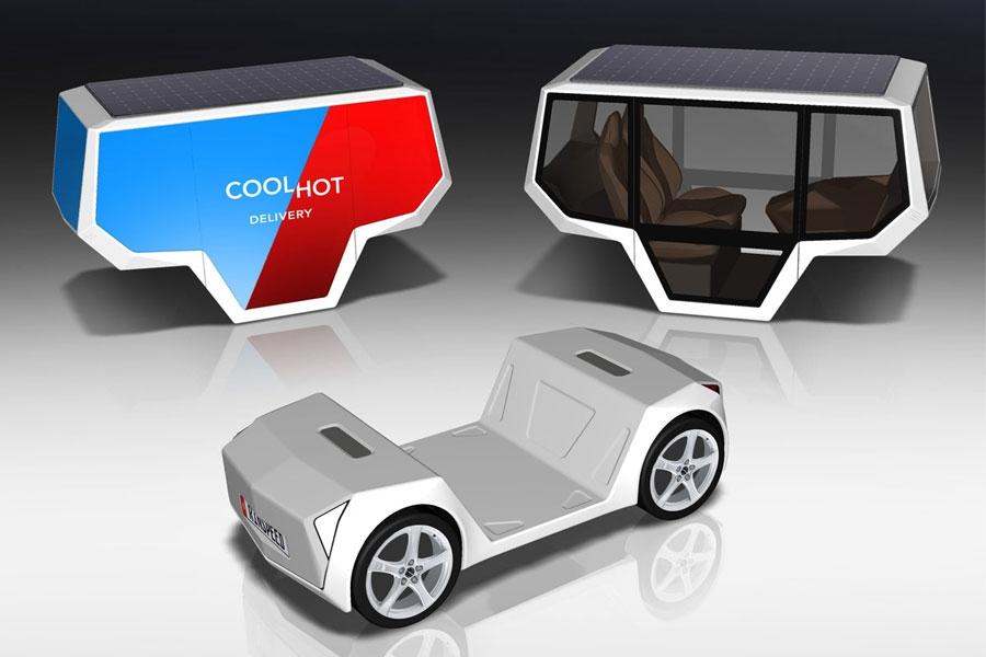 Самоходная платформа Rinspeed Snap получит продолжение 1