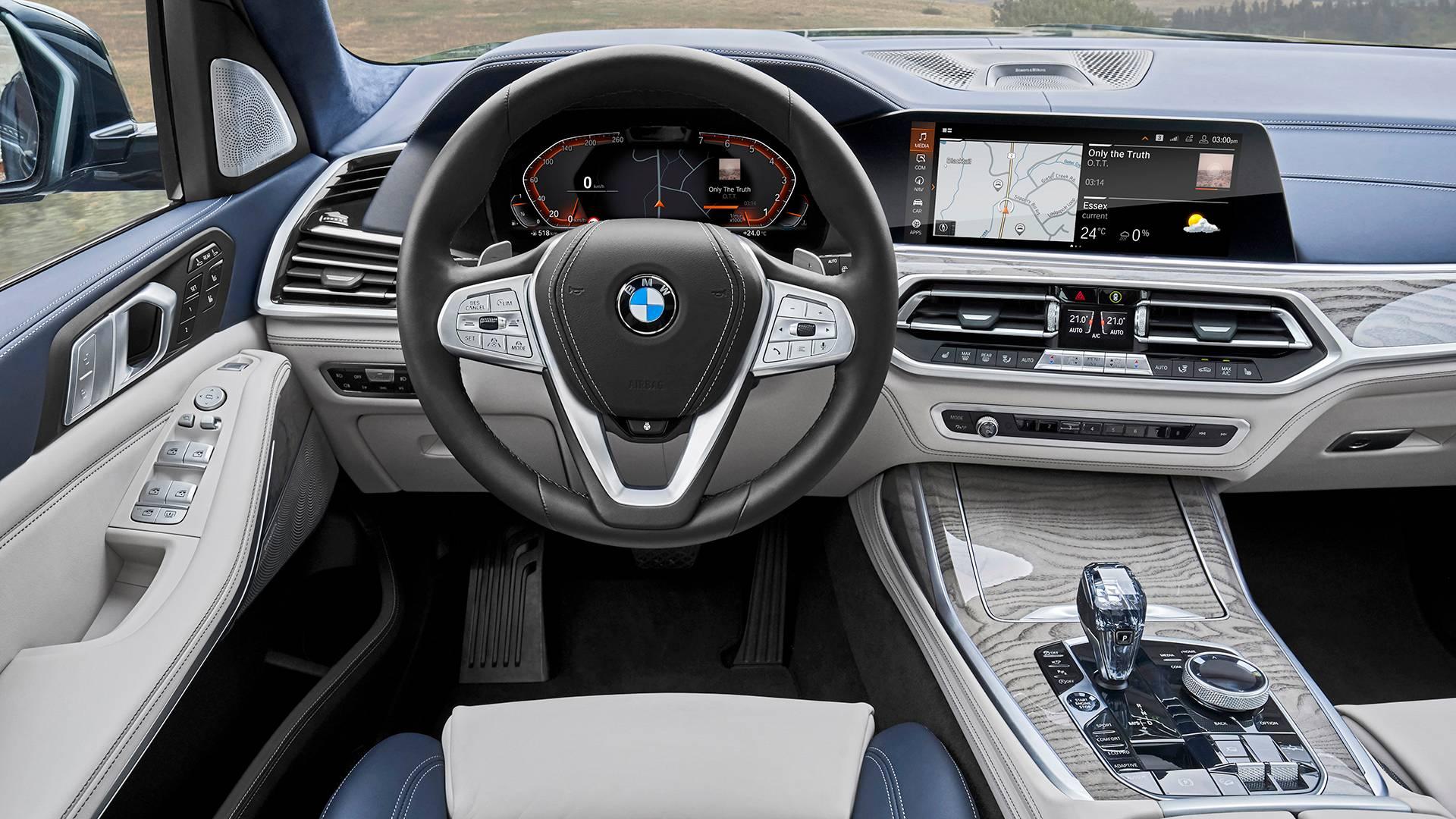 BMW официально представила 7-местный кроссовер X7 3