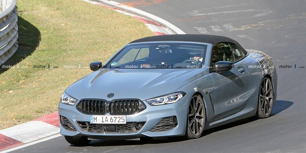 BMW вывела на финальные тесты кабриолет 8-Series 1