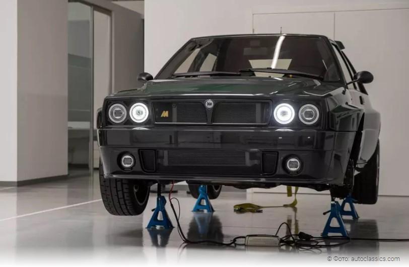 Как звучит «возрожденная» Lancia Delta Integrale 1