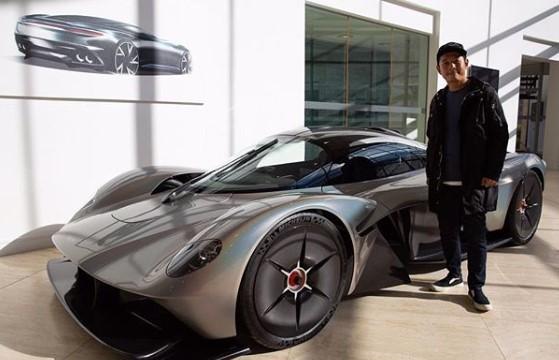 Японский миллиардер раскрыл облик серийного Aston Martin Valkyrie 2