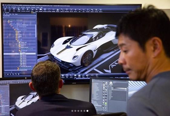 Японский миллиардер раскрыл облик серийного Aston Martin Valkyrie 1