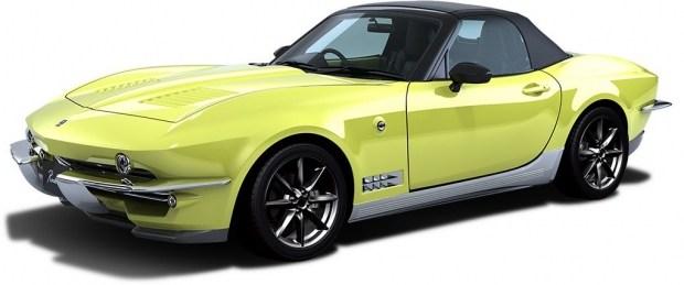 Японцы превратили Mazda MX-5 в классический Corvette 2