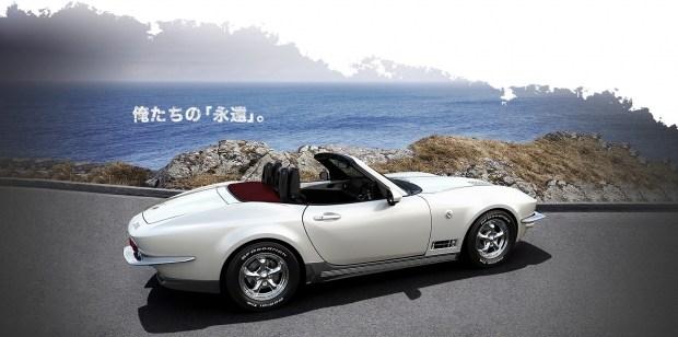 Японцы превратили Mazda MX-5 в классический Corvette 3