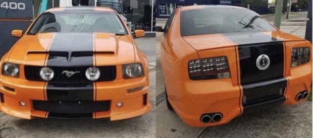 Как выглядит единственный в мире 4-дверный Ford Mustang 1