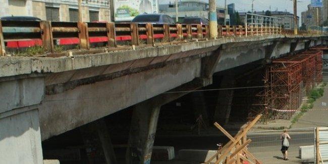 Шулявский мост в процессе реконструкции разберут до фундамента 1