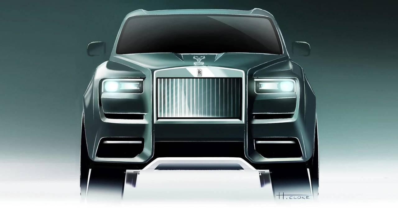 Самый мощный Rolls-Royce Cullinan может оказаться гибридом 1