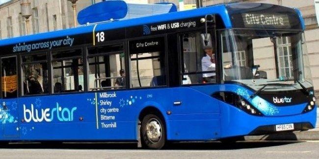В Британии запустили автобус, который очищает воздух 1