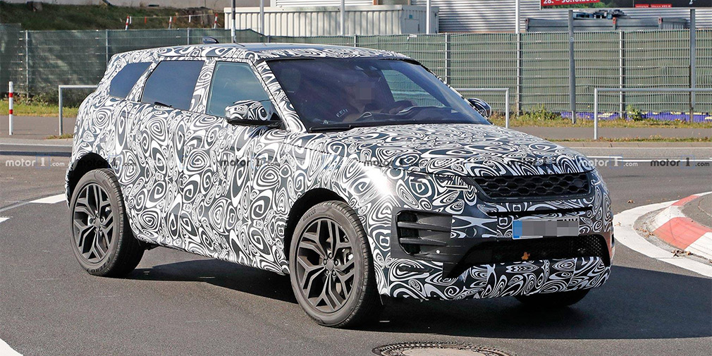 Новый Range Rover Evoque испытали на Нюрбургринге 1