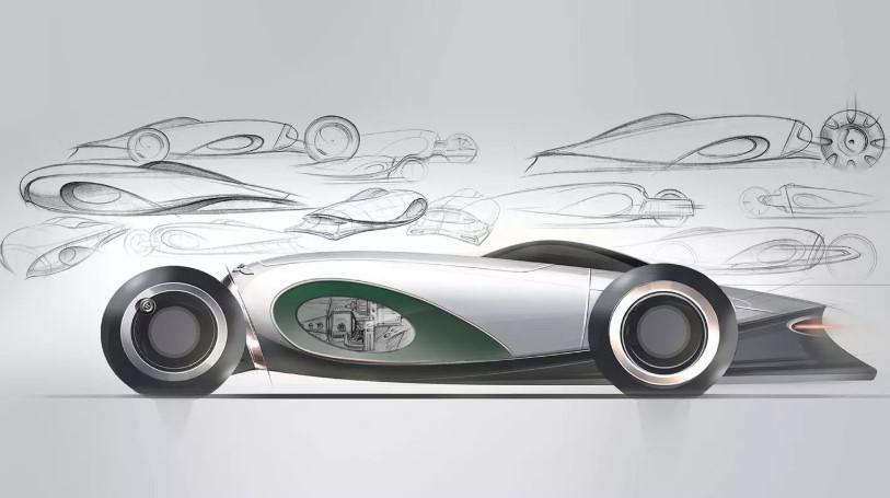 Студенты британского колледжа искусств нарисовали Bentley 2050 года 2