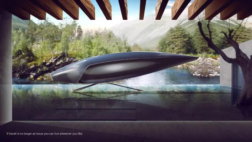 Студенты британского колледжа искусств нарисовали Bentley 2050 года 1