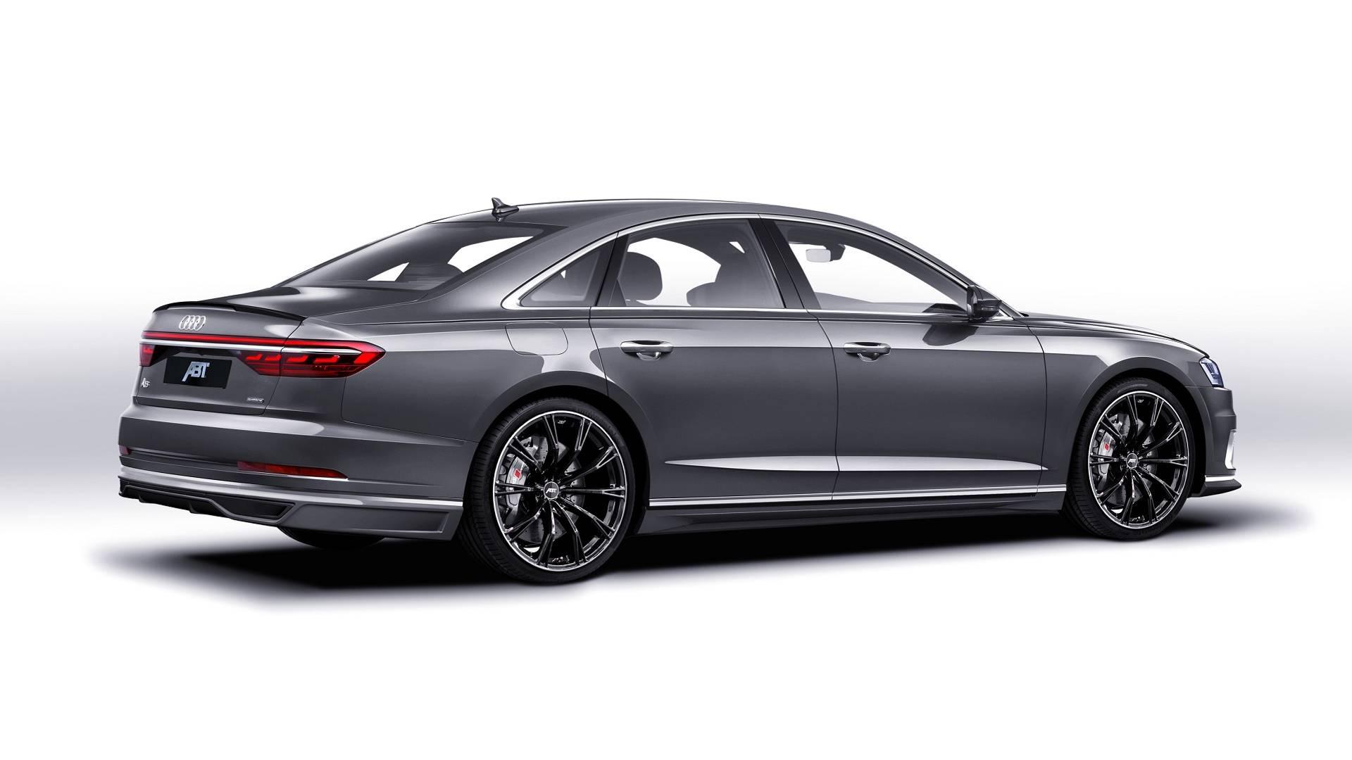 ABT сделал новый Audi A8 мощнее 1