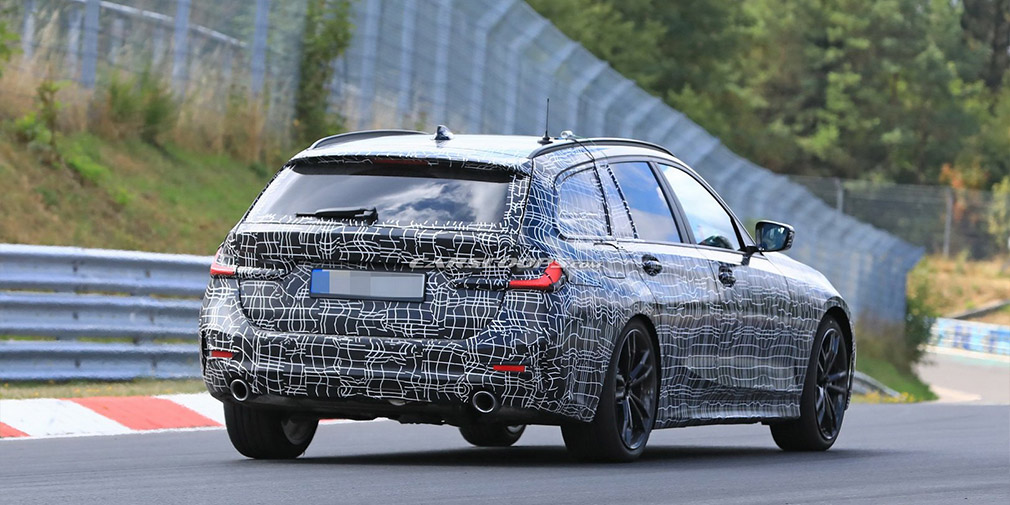 Названа дата премьеры нового универсала BMW 3-Series 1