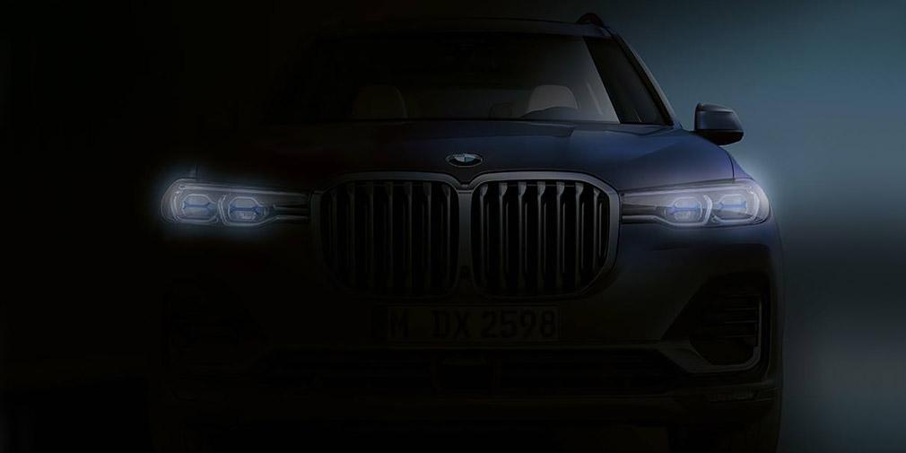 BMW опубликовала первое изображение X7 без камуфляжа 1