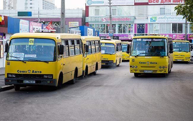 В Киеве исчезнут все маршрутки 1