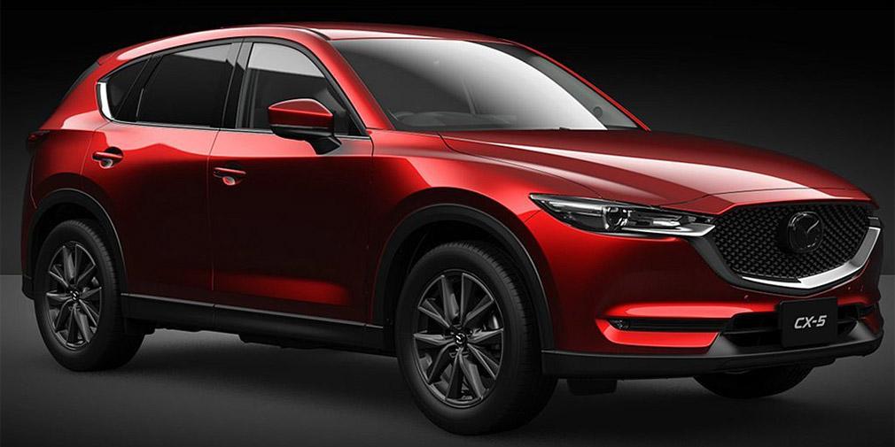 Mazda обновила кроссовер CX-5 1