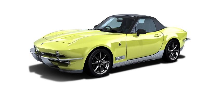Mitsuoka превратила Mazda MX-5 в аналог Chevrolet Corvette C2 1