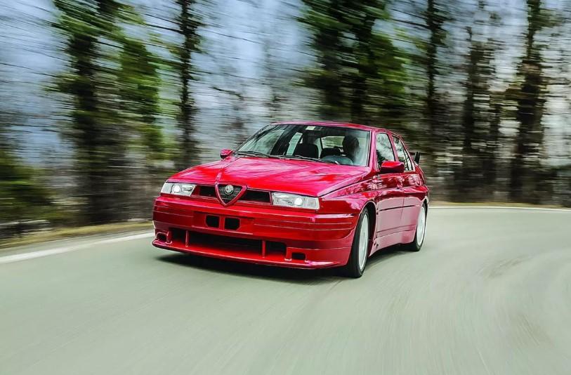 Единственный экземпляр Alfa Romeo 155 GTA Stradale продадут на аукционе 1