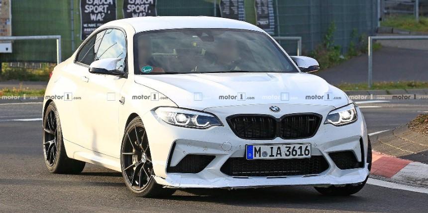 BMW тестирует M2 CS или M2 CSL 1