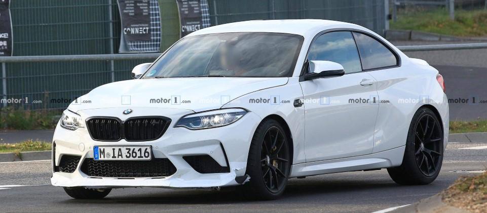 BMW тестирует M2 CS или M2 CSL 2