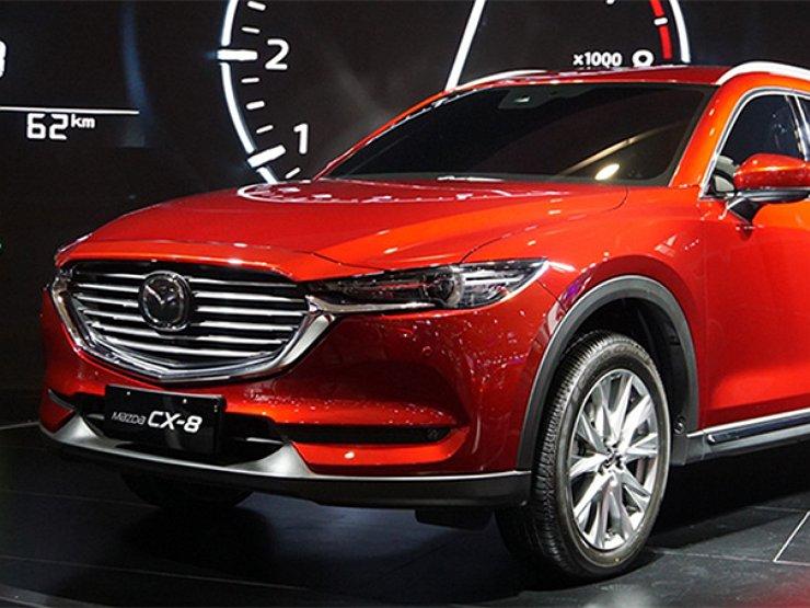 Mazda СХ-8 для китайцев стала длиннее оригинала 1