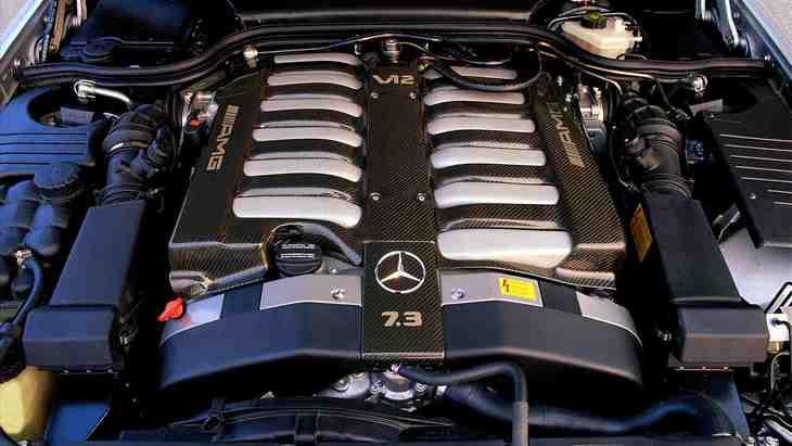 Mercedes отказывается от мотора V12 1