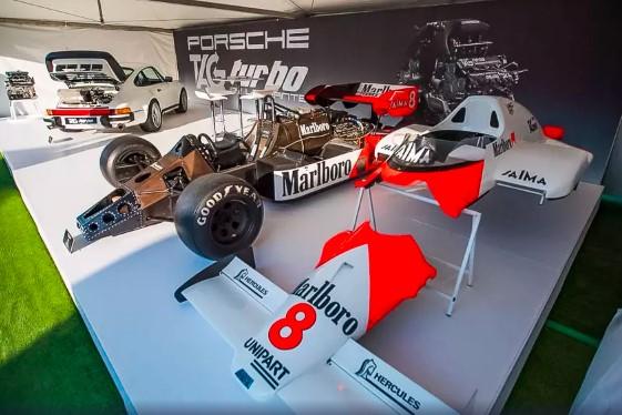 Porsche 911 получат двигатели от болида F1 1