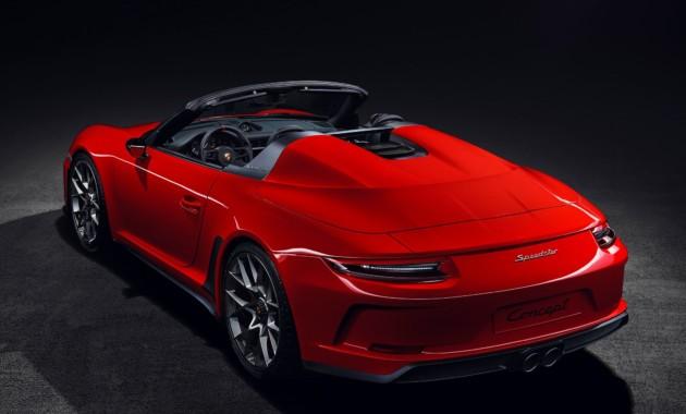 Porsche 911 Speedster все-таки пойдет в серию 2