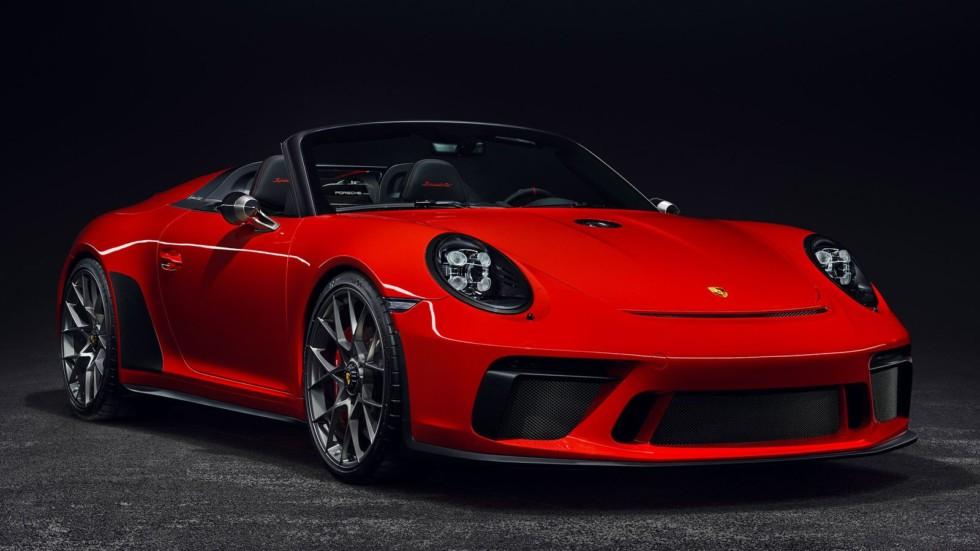 Porsche 911 Speedster все-таки пойдет в серию 1