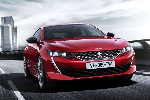 Peugeot работает над «горячим» флагманом 508 R 1