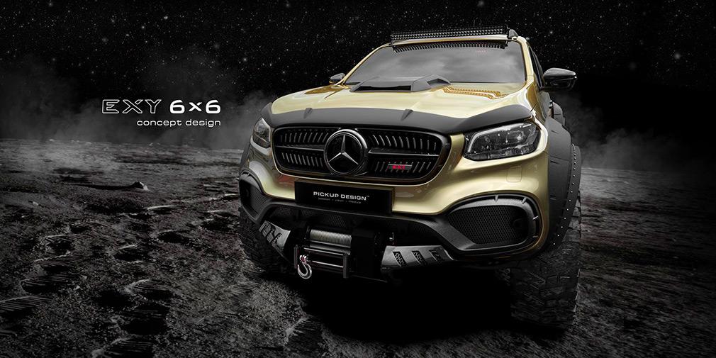 Mercedes-Benz X-Class получит шестиколесную версию 1
