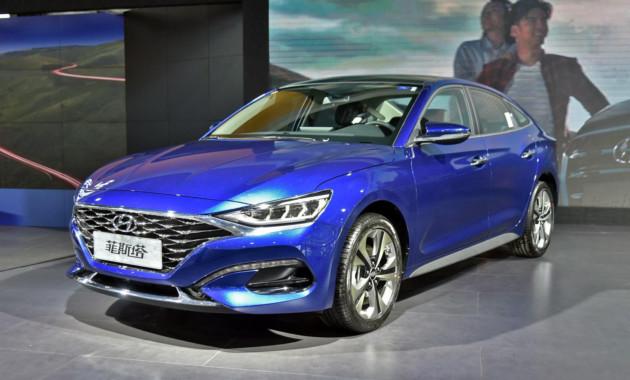 Hyundai Lafesta отправился в серию 1