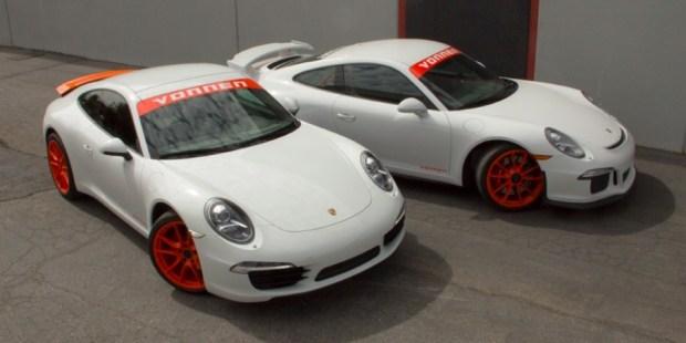 Американцы превратили Porsche 911 в гибрид 1