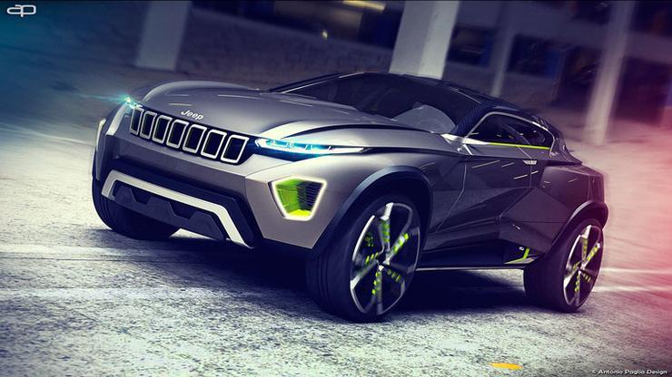 Jeep Concept Freedom: как будут выглядеть американские внедорожники через 10 лет 1