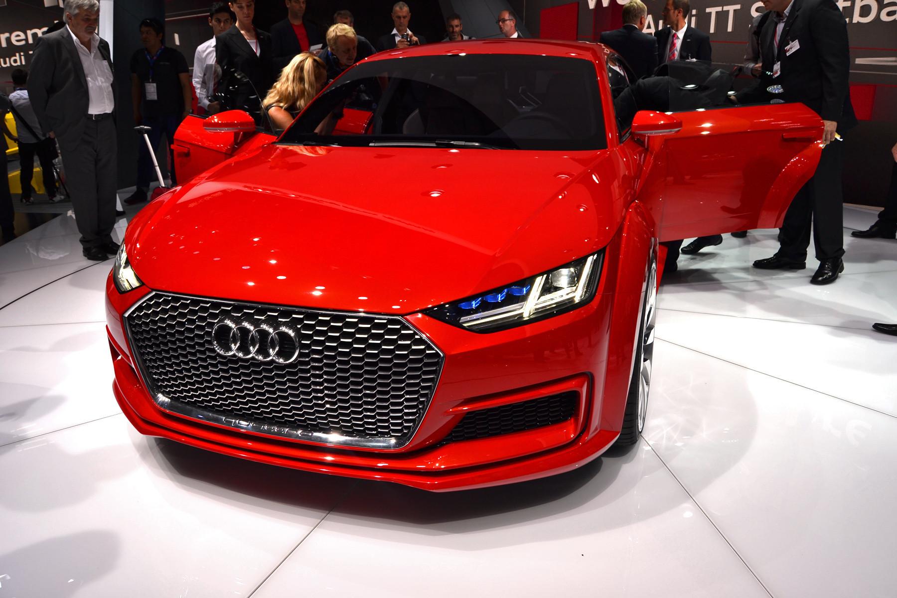 У Audi появится практичное четырехдверное купе 1