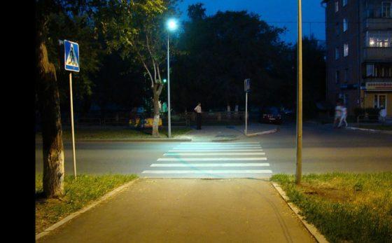 Пешеходные переходы в Украине будут подсвечивать 1