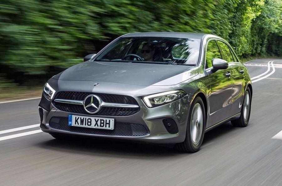 Mercedes добавил A-Class два дизельных двигателя 1